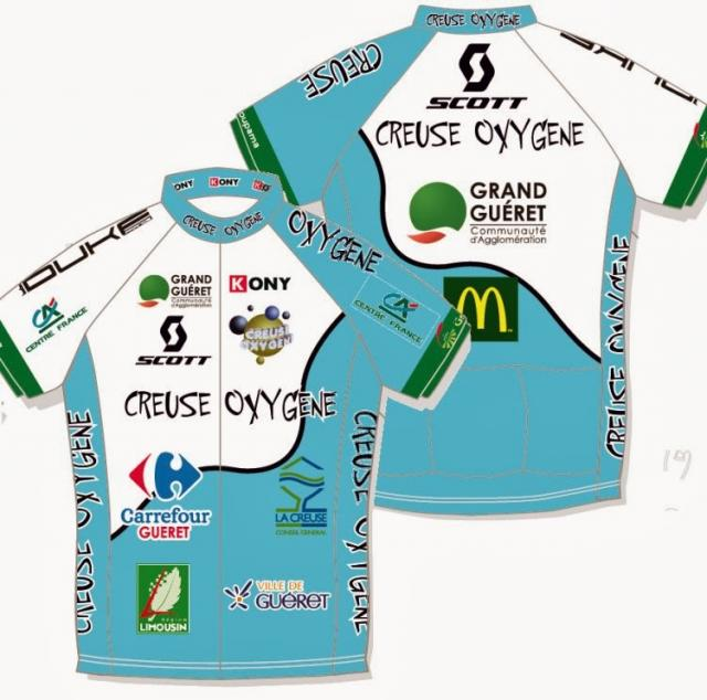 2014 maillot creuse ox